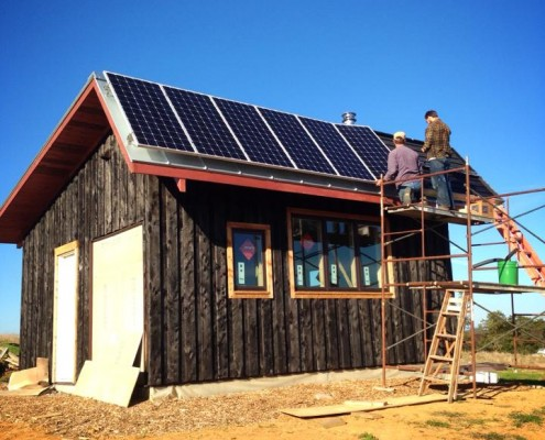 sustainable off-grid tiny house in rockingham county