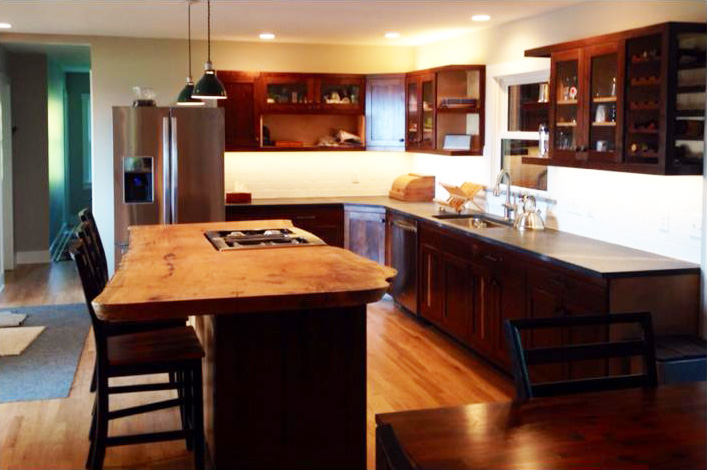 custom kitchen renovations, harrisonburg va