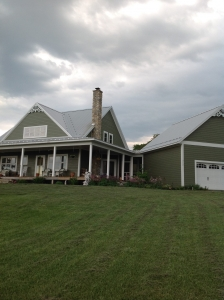 Custom home of Darnice Pettigrew, built by Herr & Co.