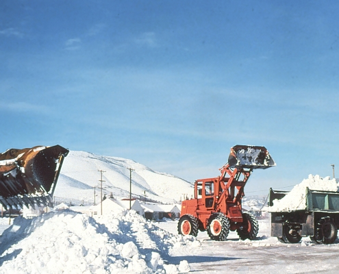 major snow removal - construction during winter - Herr & Co.